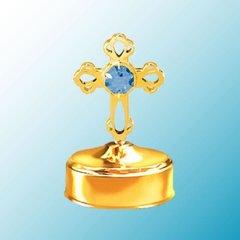 Cross Music Box w/ Swarovski Element Crystal
