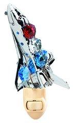 Space Shuttle Night Light w/Mixed Swarovski Element Crystal