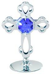 Cross on Stand w/Swarovski Element Crystal