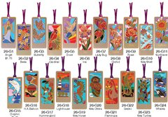 (Set of 6, 12 or 24) Epoxy Bookmarks with Assorted styles - Only $1.95 each