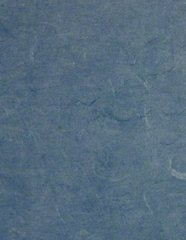 Set of 6 - Handmade Paper - Extra Thick Fiber Paper (Blue)