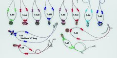 Cloissone Bead Necklace Assortment - Only $14.95 per dozen