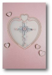 Corss Quilled Paper Cards (Set of 3) with envelopes