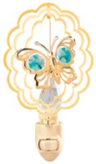 Butterfly in Oval Night Light w/ Swarovski Element Crystal