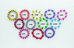 Plastic Bead Bracelet Assortment - Only $25.95 per dozen