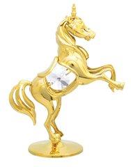 Unicorn on Stand w/Swarovski Element Crystal