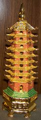 9 Tier Bejeweled Wen Chang Pagoda