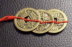 3 Coin Prosperity Energizer - 1 Pre-Tied Set