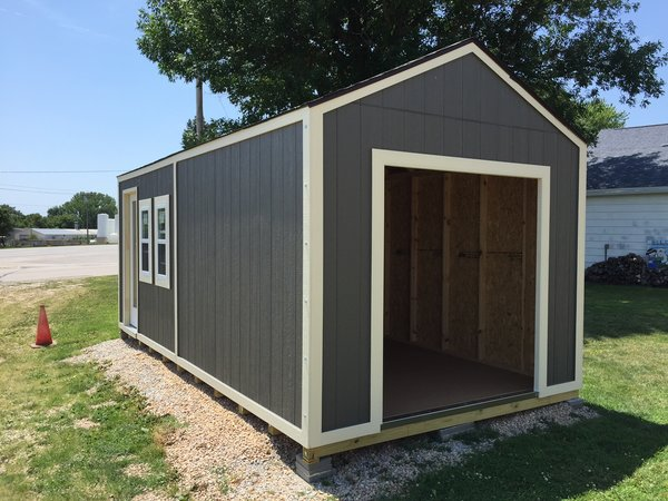 10x20 Gable With 8ft Sidewalls Iowa Sheds Model Clearance