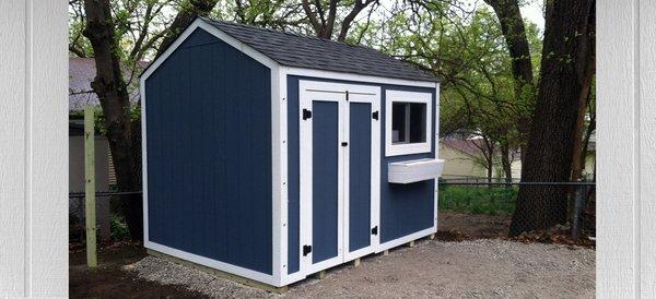 8x10 garden shed budget