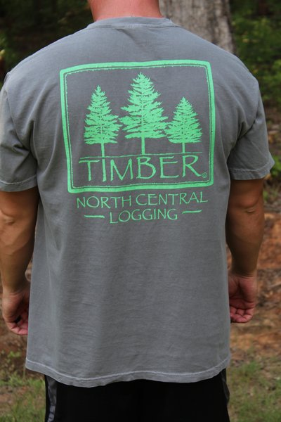 Comfort Colors Brand Timber T Shirt W Timber Logo And