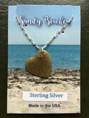 SB-P3353 with sterling silver chain