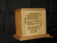 Loss of Pet Urn with Memorial Poem