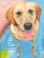 Pet Portrait Painting - Custom from your favorite photo