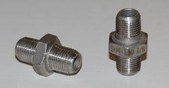 909 Stainless Steel Hex Nipple (Male to Male) 1/8 NPT