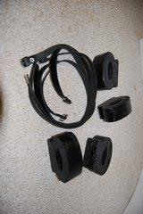 264 Rubber Axle Buffer - Snubber, set of 4