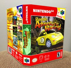 Beetle Adventure Racing! N64 Game Case with Internal Artwork
