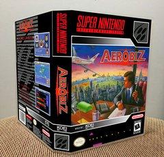 Aerobiz SNES Game Case with Internal Artwork