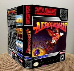 Aero the Acro-Bat SNES Game Case with Internal Artwork