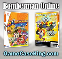 Bomberman Online Sega Dreamcast Game Case