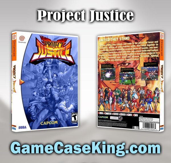 project justice dreamcast Gaming 8-bit days a week short gameplay videos with no edits of me playing dreamcast games probably the last console that was made for arcade ports.