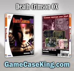 Death Crimson OX Sega Dreamcast Game Case