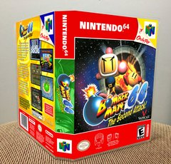 Bomberman 64: The Second Attack N64 Game Case with Internal Artwork