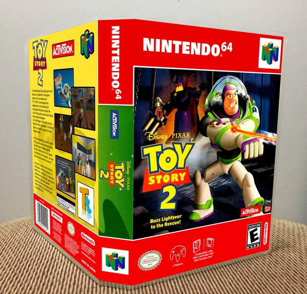 Case Of Toy Story Games : Toy story buzz lightyear to the rescue n video game