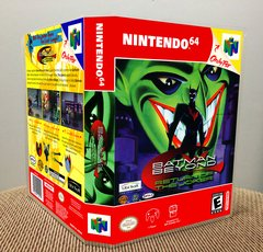 Batman Beyond: Return of the Joker N64 Game Case with Internal Artwork