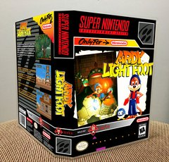 Ardy Lightfoot SNES Game Case with Internal Artwork