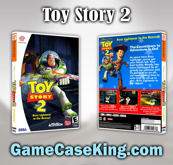 Case Of Toy Story Games : Toy story buzz lightyear to the rescu sega dreamcast