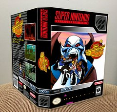 Adventures of Mighty Max (The) SNES Game Case with Internal Artwork