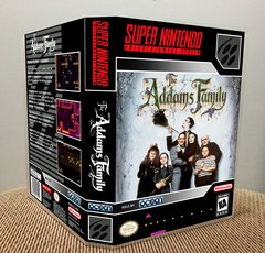 Addams Family (The) SNES Game Case with Internal Artwork