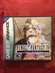 Final Fantasy IV Advance GBA Game Case