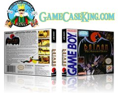 Batman The Animated Series Gameboy Game Case