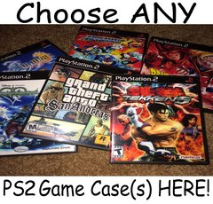 ***Choose ANY Playstation 2 (PS2) Game Case(s) HERE***