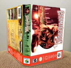 Carmageddon 64 N64 Game Case with Internal Artwork