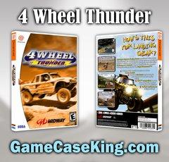 4 Wheel Thunder Sega Dreamcast Game Case