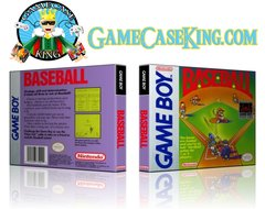 Baseball Gameboy Game Case