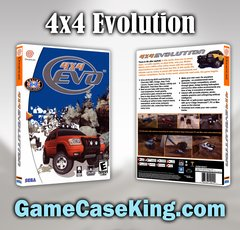 4x4 Evolution Sega Dreamcast Game Case