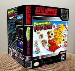 Adventures of Yogi Bear SNES Game Case with Internal Artwork