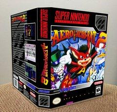 Aero the Acro-Bat 2 SNES Game Case with Internal Artwork