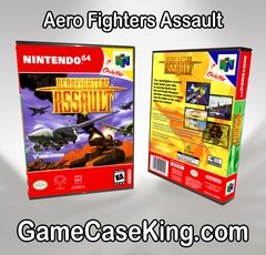 Aero Fighters Assault N64 Game Case
