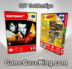 007 GoldenEye N64 Game Case