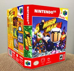 Bomberman 64 N64 Game Case with Internal Artwork