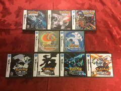 Pokemon 9 Case DS Lot