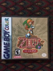 Legend of Zelda (The): Oracle of Seasons GBC Game Case