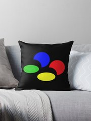 SNES PAL Logo Pillow ~FREE SHIPPING~