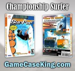 Championship Surfer Sega Dreamcast Game Case