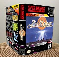 ActRaiser SNES Game Case with Internal Artwork